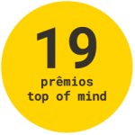 19 prêmios top of mind